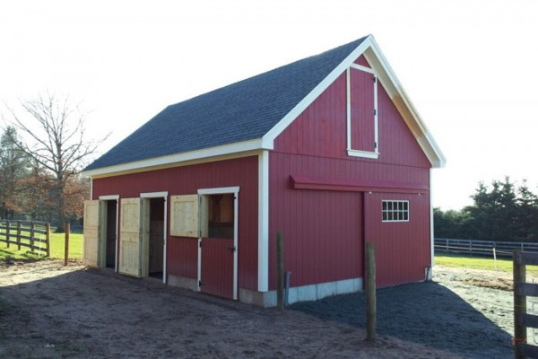 Pole barn apartments joy studio design gallery best design for 2 stall horse barn kits