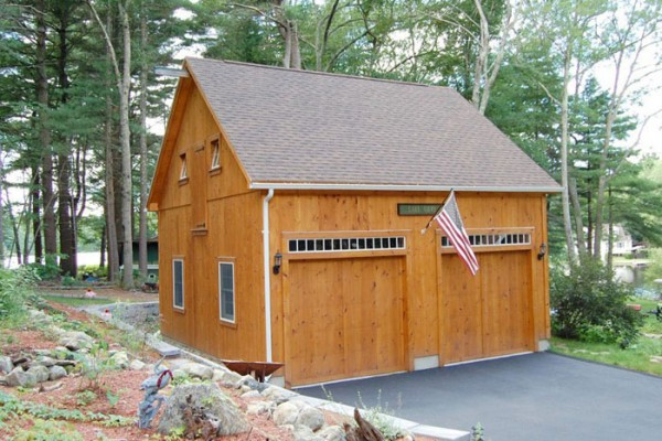 garages sevigny custom barns post and beam With 24x24x12 garage